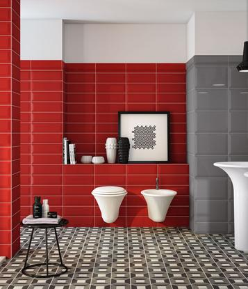Oxford: Red Tiles: view the collections - Marazzi