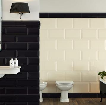 Oxford - Glossy tiles for bathroom wall coverings