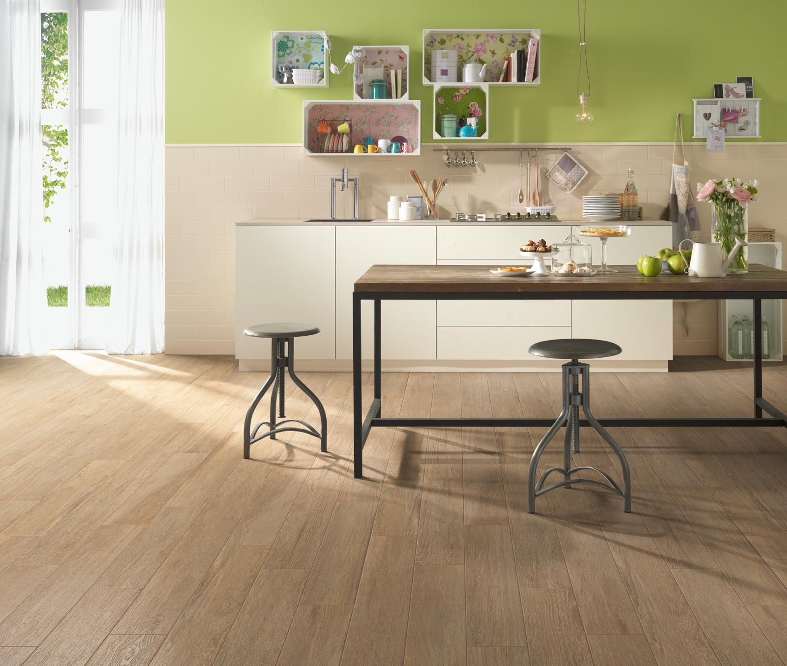 Planet - Wood Effect - Kitchen