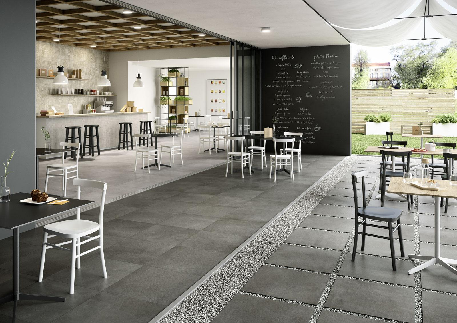 Indoor and outdoor flooring view the collections marazzi plaster20 concrete effect indoor and outdoor dailygadgetfo Images