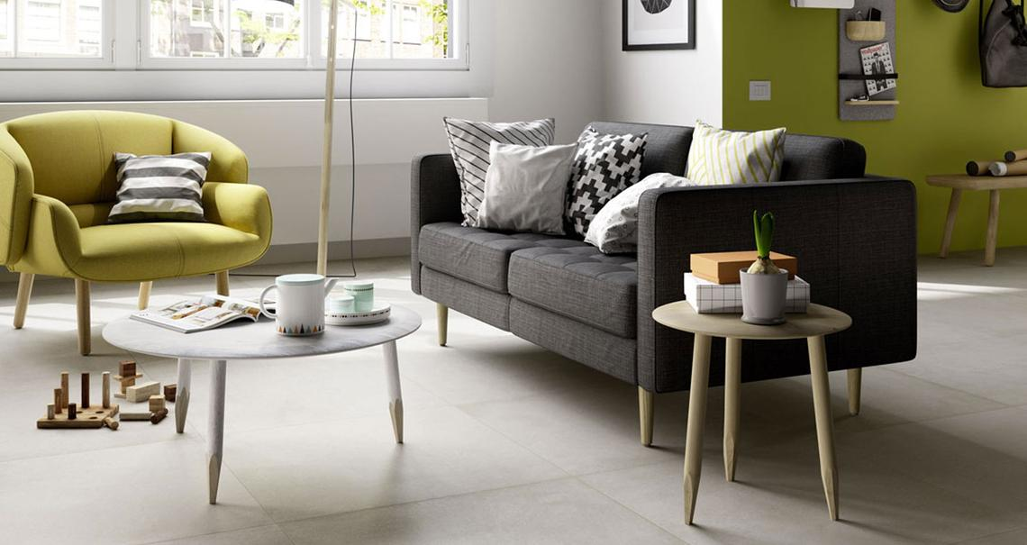 Plaster - Concrete Effect - Living Room