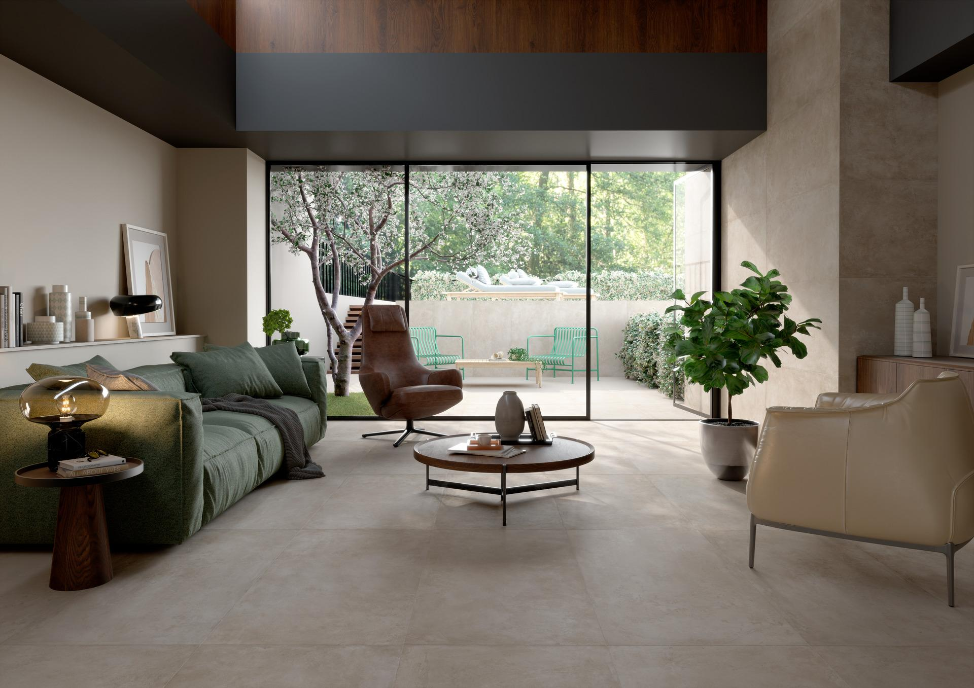 Plaza - Concrete Effect - Living Room