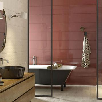 Tiles Bathroom Red   Marazzi_744