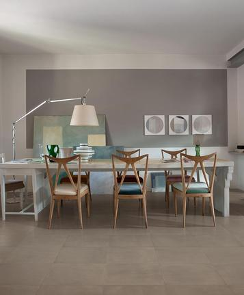 Poudre: Green porcelain stoneware: ecology and sustainability - Marazzi