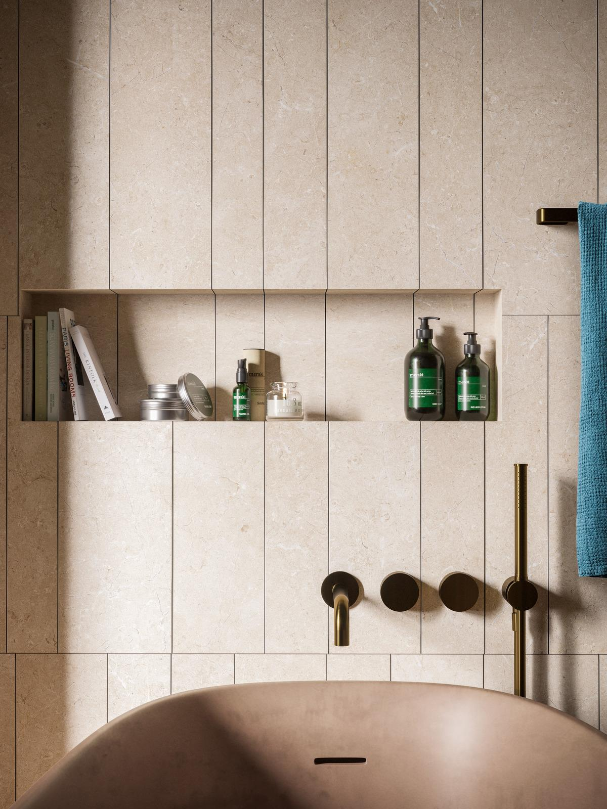 Magnifica - Stone Effect - Bathroom