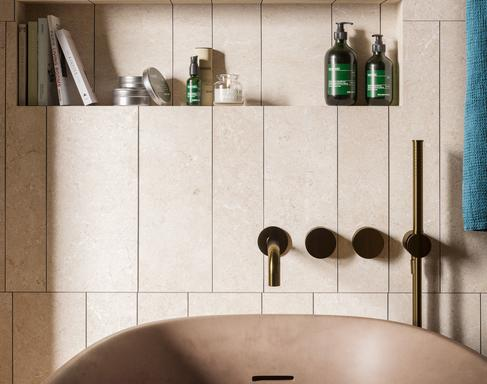 Bathroom tiles: ceramic and porcelain stoneware - Marazzi 11607