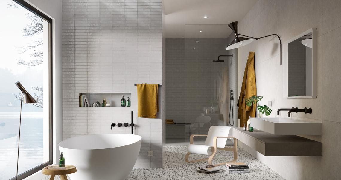 White Tiles: view the collections - Marazzi 11603