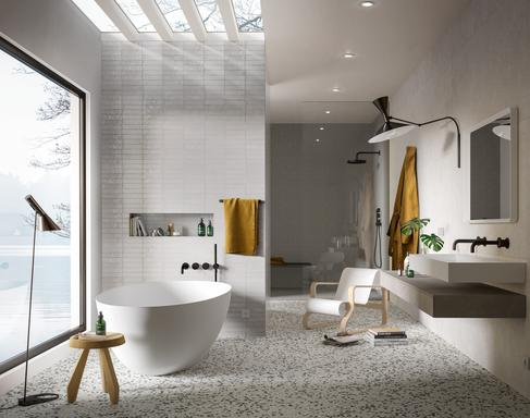 Bathroom tiles: ceramic and porcelain stoneware - Marazzi 11603