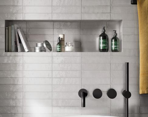 Bathroom tiles: ceramic and porcelain stoneware - Marazzi 11601