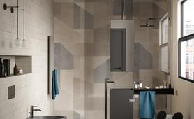 Bathroom tiles: ceramic and porcelain stoneware - Marazzi 11562