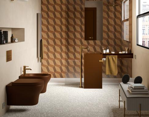 Bathroom tiles: ceramic and porcelain stoneware - Marazzi 11594