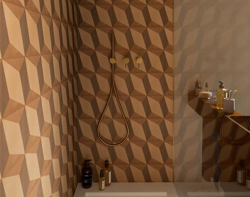 Bathroom tiles: ceramic and porcelain stoneware - Marazzi 11592