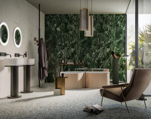 Marble effect ceramics: discover all the effects - Marazzi 11634