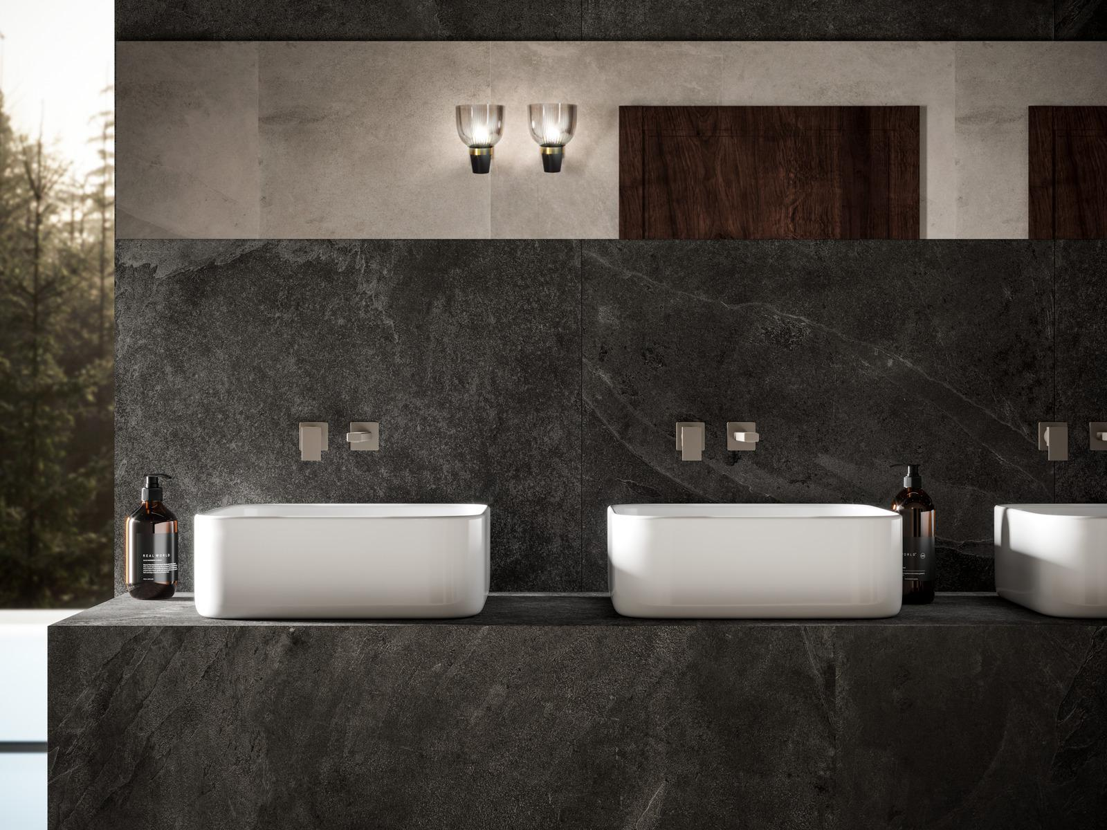 Mystone ardesia - Stone Effect - Bathroom