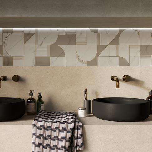 Allmarble wall - Marble Effect - Bathroom