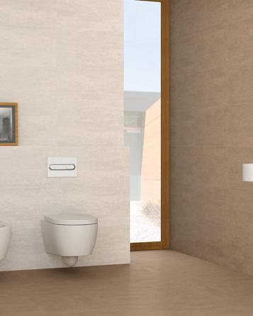 Serpal - Concrete effect tiles for bathroom