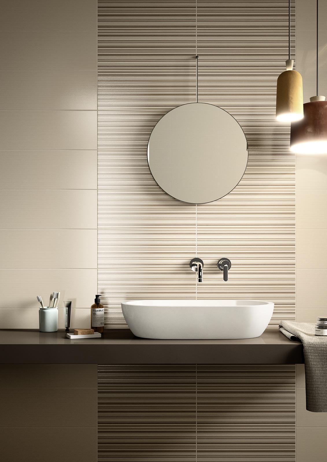 Shine fabric effect covering marazzi shine bathroom dailygadgetfo Image collections