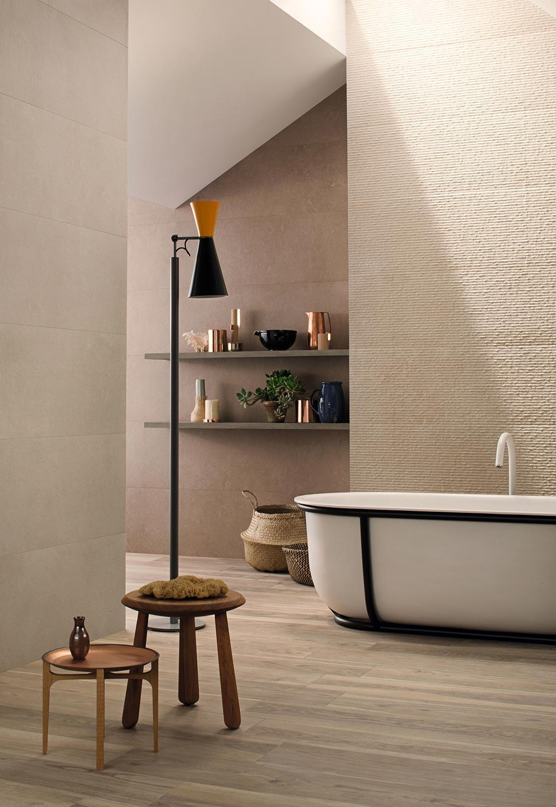 Stone Art Effect Bathroom