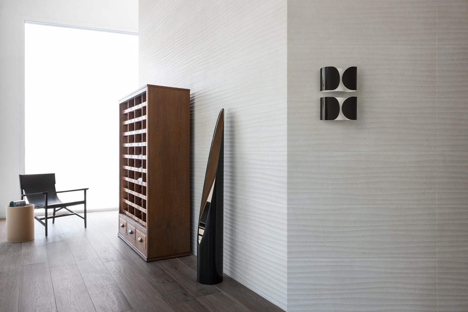 Stone Art Effect Bedroom