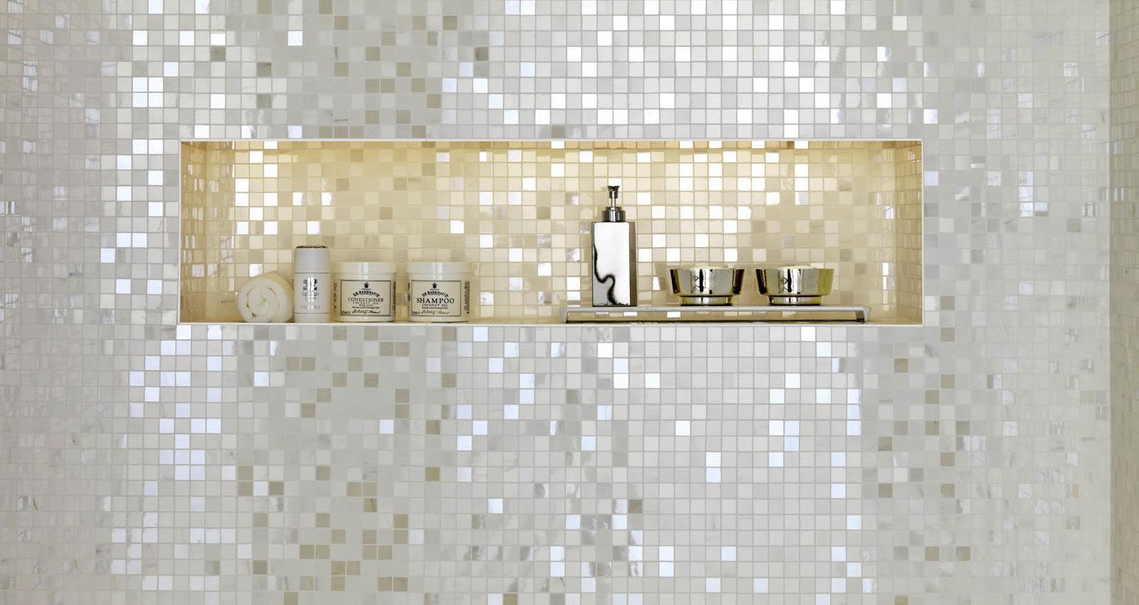 Stonevision Glossy Porcelain Marazzi Bianca Top Leux Studio Silver L Marble Effect Bathroom