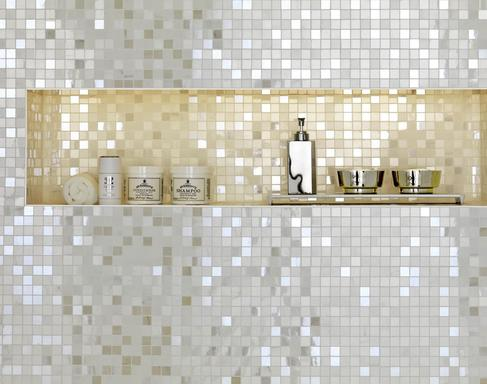 Bathroom and other locations mosaic tiles - Marazzi 332
