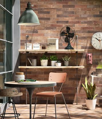 Tiles Brown Concrete Effect - Marazzi_732