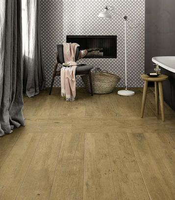 Treverkdear: Bathroom tiles: ceramic and porcelain stoneware - Marazzi
