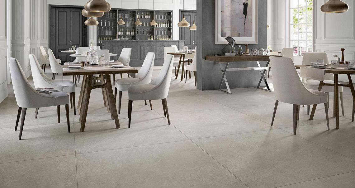 XLstone - Stone effect stoneware in shops and spas | Marazzi