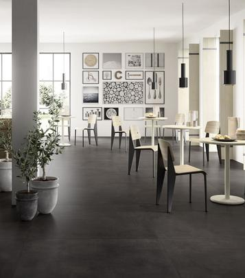 Tiles Black Concrete Effect - Marazzi_735