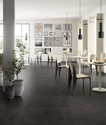 Xlstreet: Black Tiles: view the collections - Marazzi