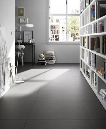 Tiles Black Concrete Effect - Marazzi_591