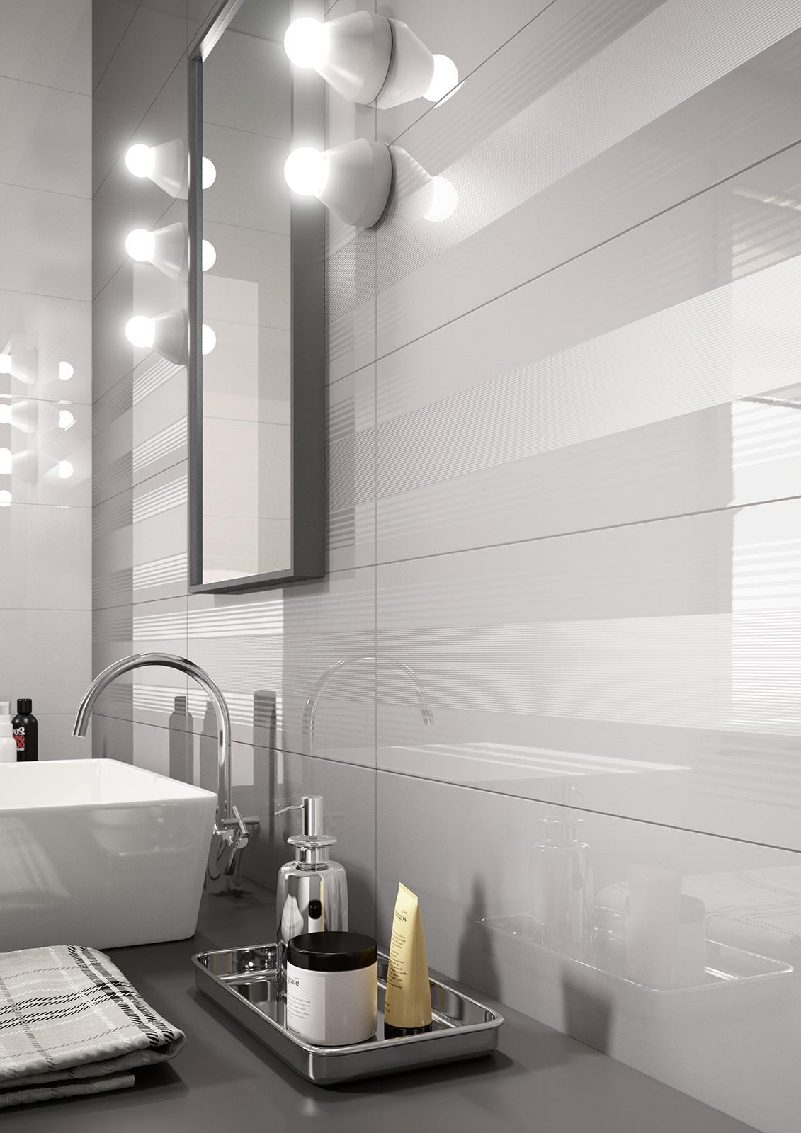 Colourline polished porcelain bathroom wall tiling marazzi colourline bathroom dailygadgetfo Choice Image