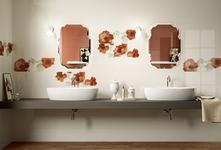Orange tiles: view the collections - Marazzi 4848