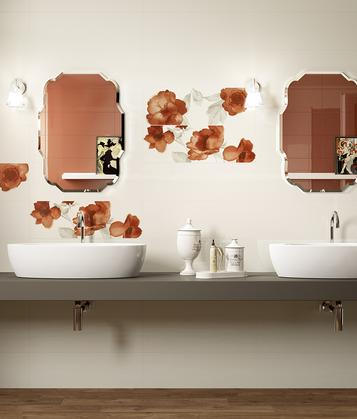 Colourline: Orange tiles: view the collections - Marazzi