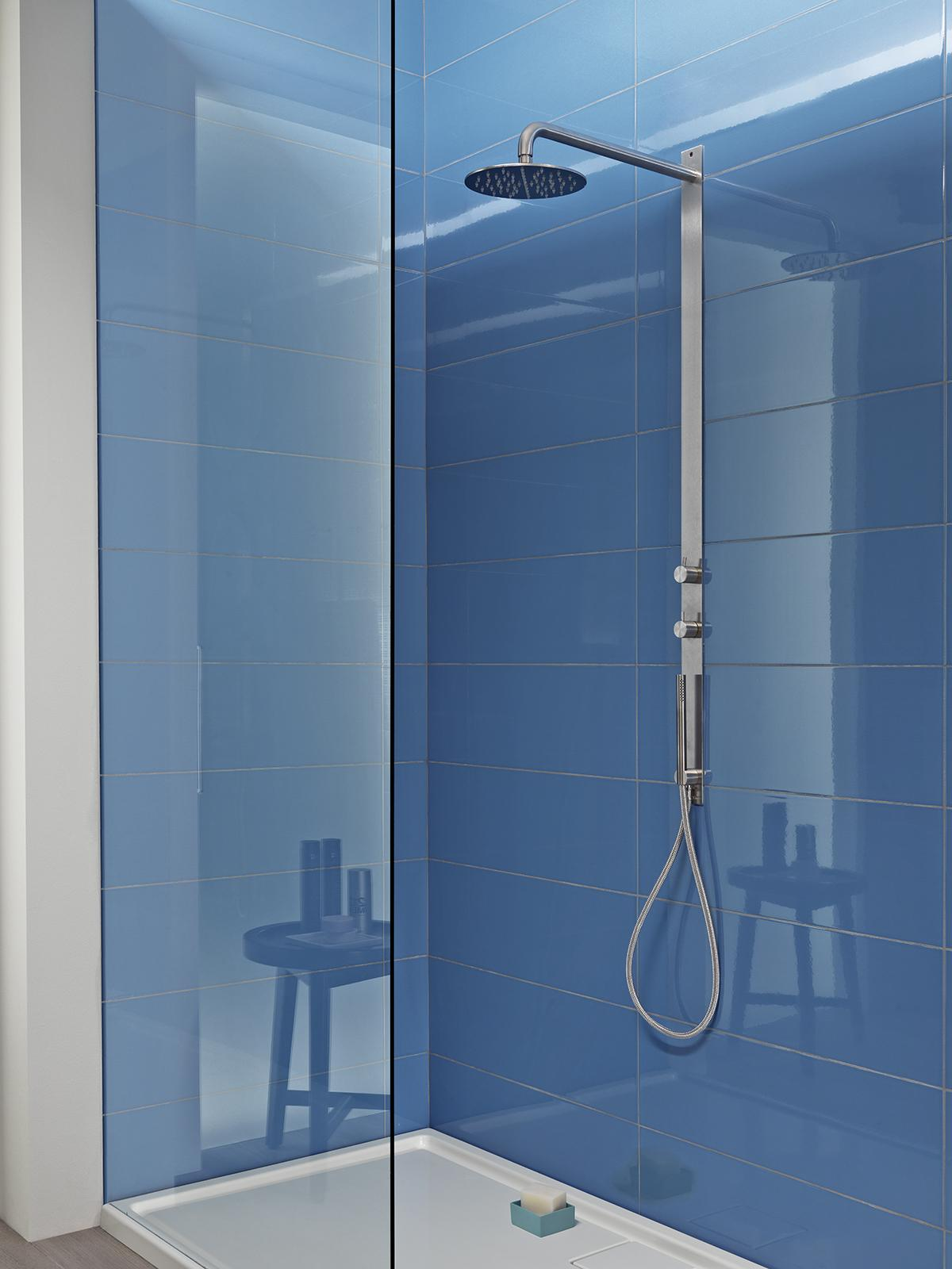 Colourline - Polished porcelain bathroom wall tiling | Marazzi