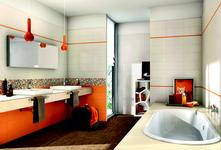 Orange tiles: view the collections - Marazzi 3983