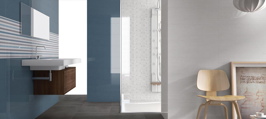 Dressy bathroom porcelain stoneware marazzi