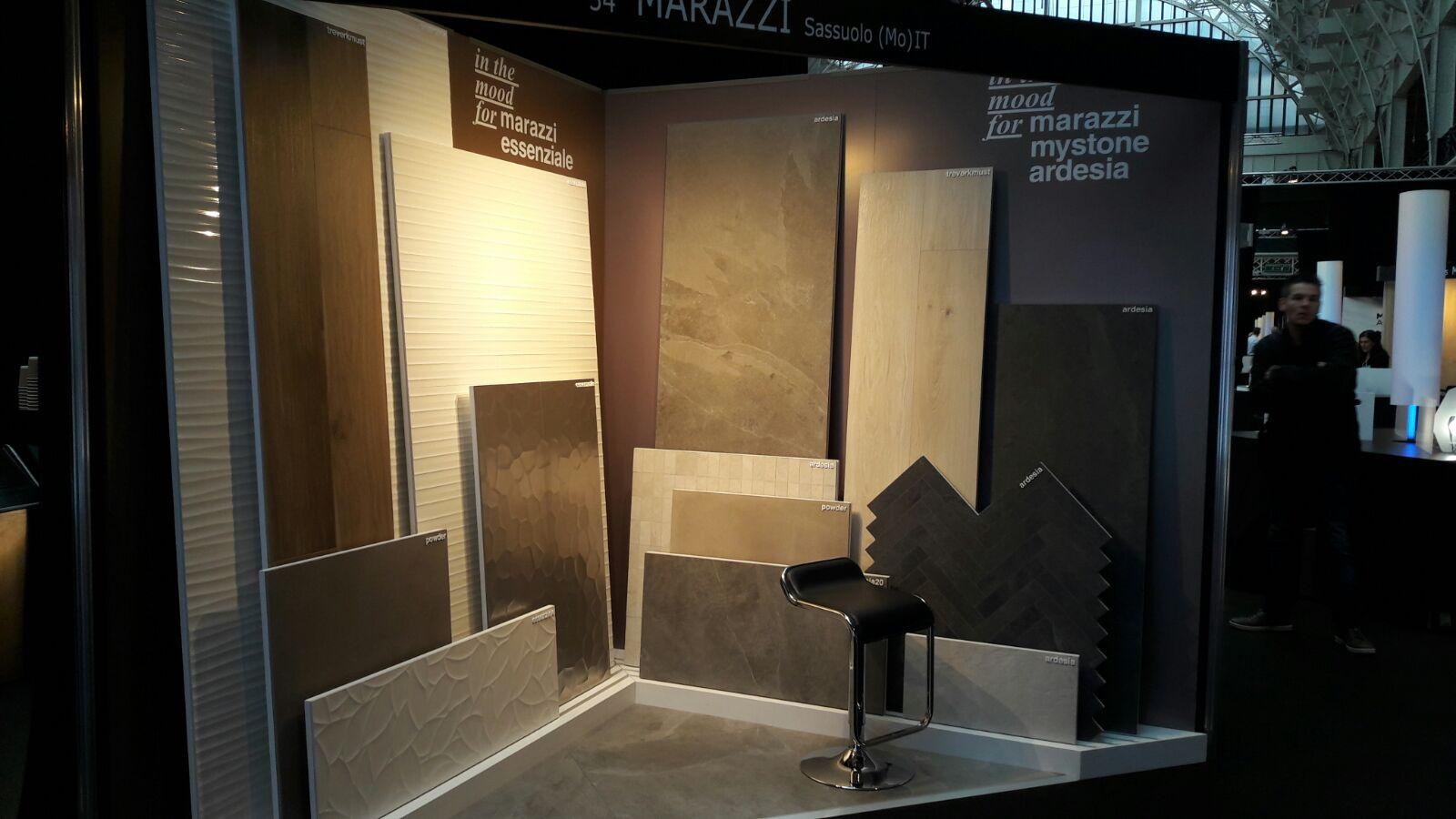 Marazzi in london with architect work marazzi for Architect at work