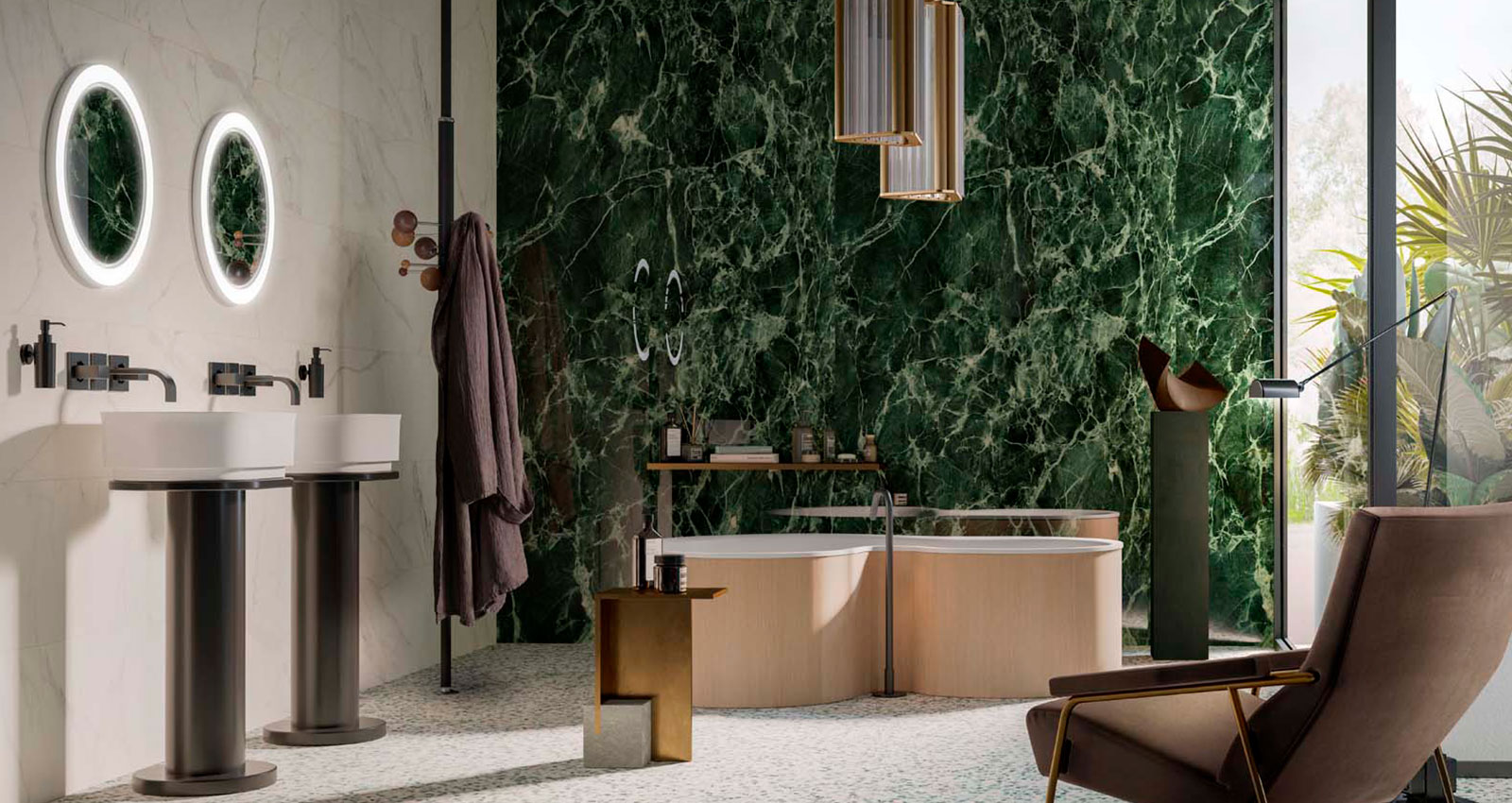 The Mansion Bathroom Wellbeing For The Mind In A Natural Space Marazzi