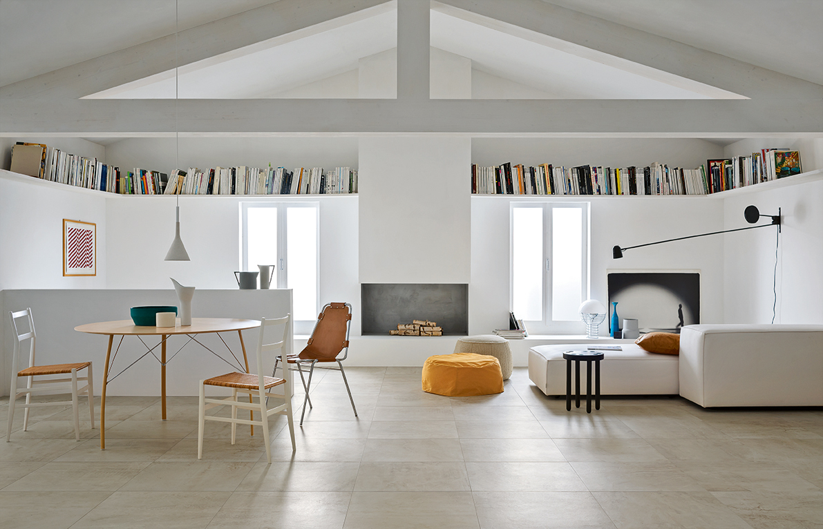 Flooring ideas for living room | Marazzi