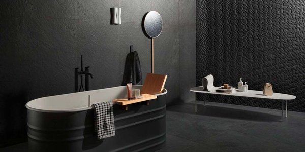 The modern bathroom acquires sophistication with the aid of an updated Scandinavian style.