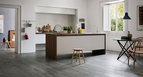 Treverkhome: wood-effect porcelain stoneware to design spaces.