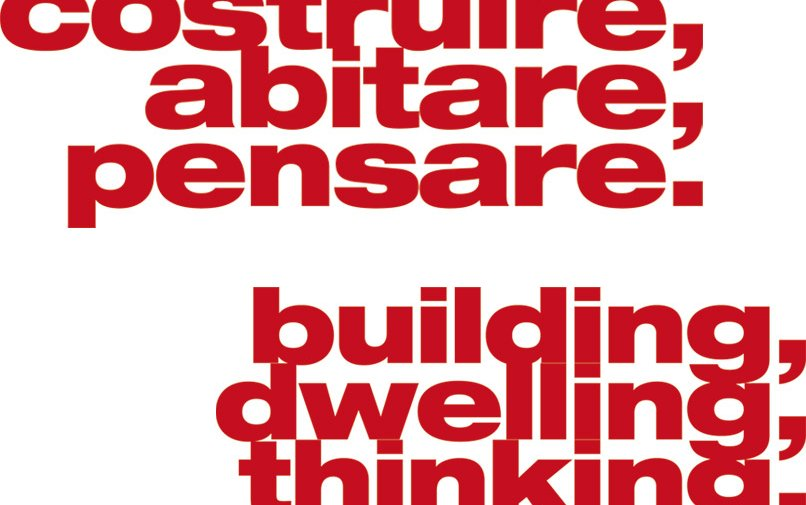 Building, Dwelling, Thinking