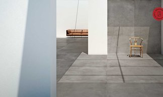 Marazzi: Grande Concrete Look, concrete effect slabs for absolutely seamless solutions