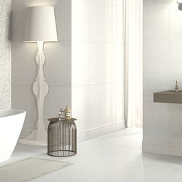 High gloss tile for the bathroom: what is the Marazzi offering?