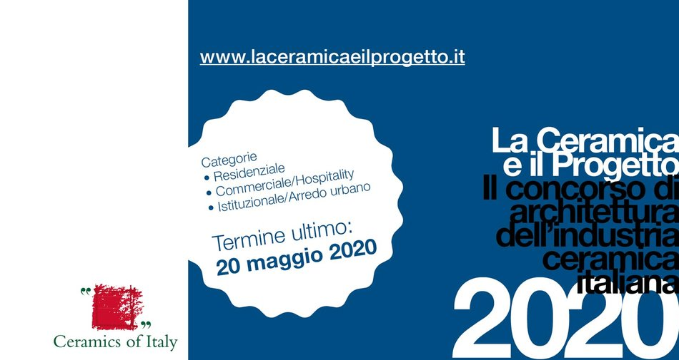 """La Ceramica e il Progetto"" 2020: the 9th edition gets under way"