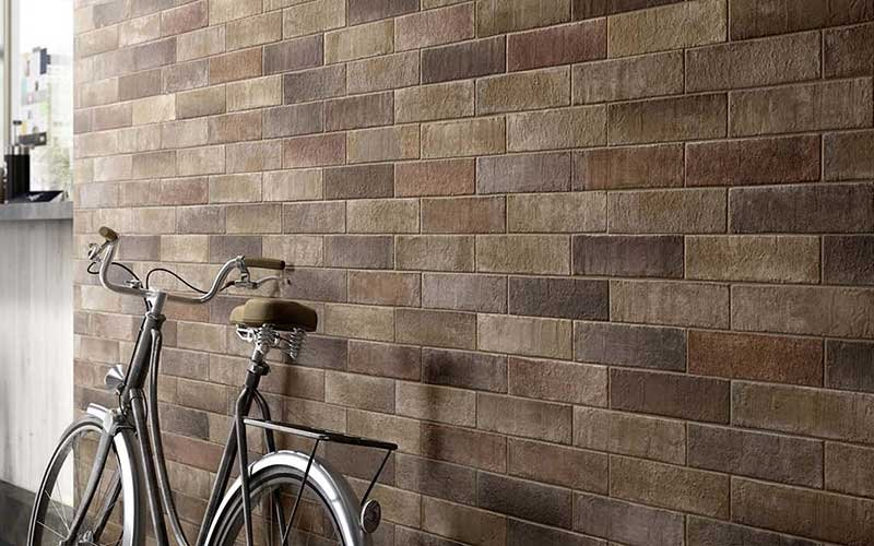 Terramix: porcelain brick tiles with a Scandinavian flavour.