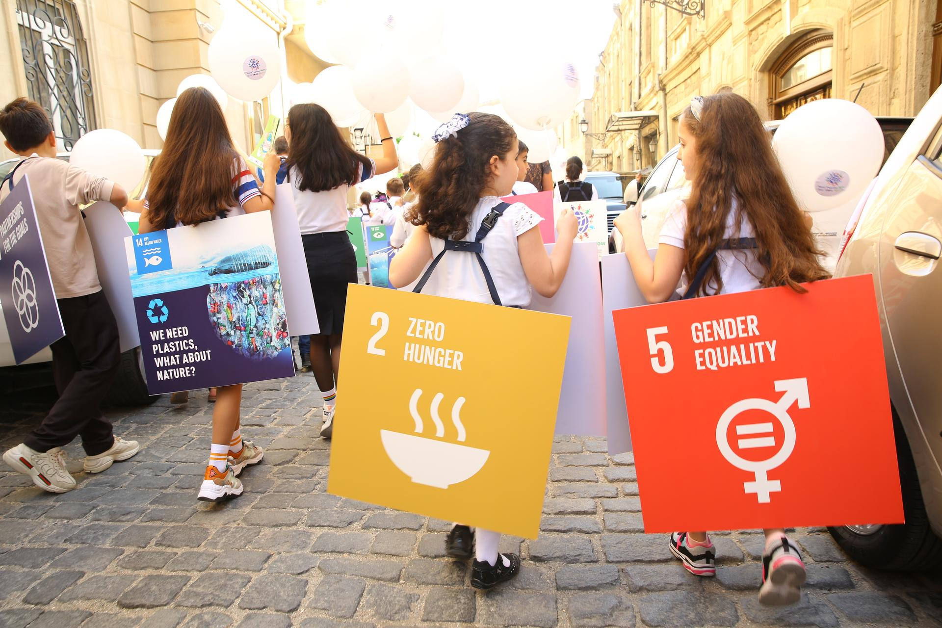 The Global Week on the Global Climate Strike and International Climate Action Summit, 9.26.2019, Baku, Azerbaijan