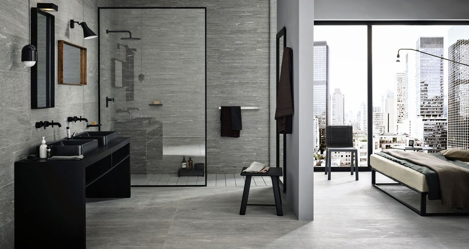 Stone look for minimalist and metropolitan interiors
