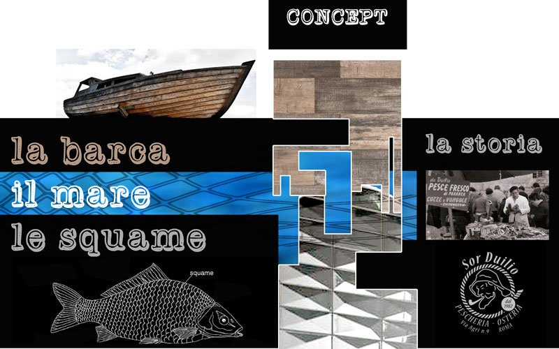 The boat, the sea and the scales with SistemC 3D decors